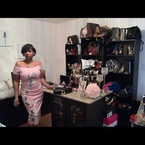 Beautiful Ted Baker Midi Dress